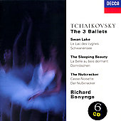 Tchaikovsky: The 3 Ballets / Richard Bonynge, National PO