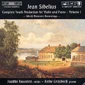 Sibelius: Complete Youth Production for Violin & Piano Vol 1