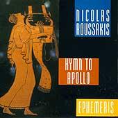 Nicolas Roussakis: Hymn to Apollo, Ephemeris