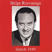 Helge Rosvaenge - Z&uuml;rich 1949