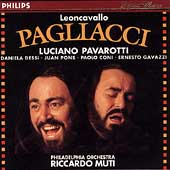 Leoncavallo: Pagliacci / Muti, Pavarotti, Dessi, Pons, et al