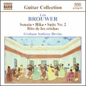 Guitar Collection - Brouwer: Guitar Music Vol 3 / Devine