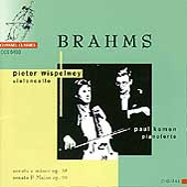 Brahms: Sonatas Op. 38 & 99 / Pieter Wispelwey, Paul Komen