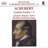 Deutsche Schubert-Lied-Edition 16 - Goethe Lieder Vol 3