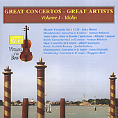 Great Concertos - Great Artists Vol I - The Violin