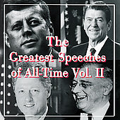 Various Artists: The Greatest Speeches Of All-Time Vol. 2