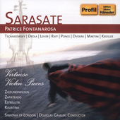 Sarasate: Virtuoso Violin Pieces / Fontanarosa, et al