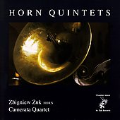 Horn Quintets / Zuk, Camerata Quartet