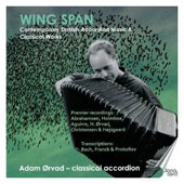 Wing Span - Holmboe, Franck, Bach, Christensen played on the accordion / Adam Orvad, classical accordion
