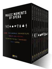 Magic Moments of Opera / Mozart, Wagner, Beethoven, Strauss [11 DVD]