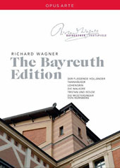 Richard Wagner: The Bayreuth Edition - Der Fliegende Holländer, Tannhäuser, Lohengrin, Die Walküre, Tristan und Isolde, Die Meistersinger von Nürnberg (complete performances, interviews & documentaries recorded live at Bayreuth, 2008 -