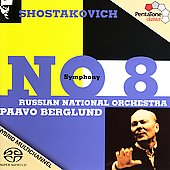 Shostakovich: Symphony no 8 / Berglund, et al