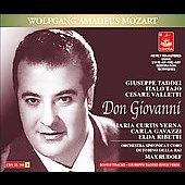 Mozart: Don Giovanni, etc / Rudolf, Taddei, Tajo, Valletti