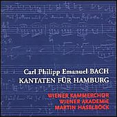 C.P.E. Bach: Cantatas for Hamburg / Haselb&#246;ck, et al