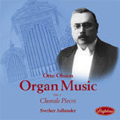 Olsson: Organ Music Vol 2 / Sverker Jullander