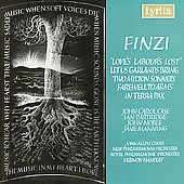 Finzi:Love's Labour's Lost, etc / Handley, Partridge, et al