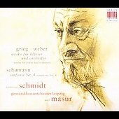Works for Piano and Orchestra - Grieg, etc / Schmidt, et al