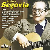 Andr&eacute;s Segovia plays Bach, Haydn, Rodrigo, Scriabin, etc