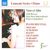 Laureate Series, Piano - Yun-Yi Qin