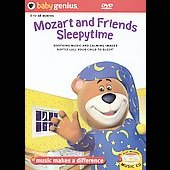 Mozart and Friends Sleepytime [CD & DVD]