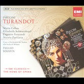 Puccini: Turandot / Serafin, Schwarzkopf [Includes CD-ROM]