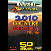 Karaoke: Karaoke: 2010 Country, Vol. 2 [Box]