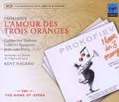 Prokofiev: The Love for three Oranges / Dubosc, Bacquier, Viala