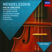 Mendelssohn: Violin Concerto; Symphony No. 4 'Italian'; Hebrides Ov. / Kyung Wha Chung, violin; Dutoit