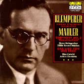 Klemperer - Mahler: Symphony no 2, Das Lied von der Erde