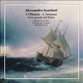 Three cantatas by Alessandro Scarlatti: L'Olimpia; L'Arianna; Su le sponde del Tebro / Adriana Fernandez, soprano