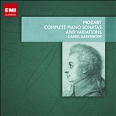 Mozart: The Complete Piano Sonatas and Variations / Daniel Barenboim [8 CDs]