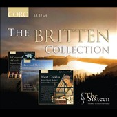 The Britten Collection / Sioned Williams: harp; Ian Partridge: tenor; The Sixteen