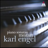Mozart: Piano Sonatas & pieces / Karl Engel