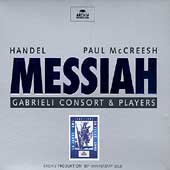 Handel: Messiah / McCreesh, Gabrieli Consort & Players