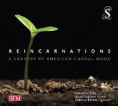 Reincarnations: A Century of American Choral Music - Works by Barber, Colin Britt, Paul Crabtree, Shawn Crouch, Dan Forrest et al. / Anna Fateeva, piano
