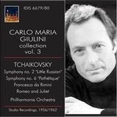 Carlo Maria Giulini Collection, Vol. 3 - Tchaikovsky / Philharmonia Orchestra; Giulini