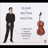 William Walton: Cello Concerto; Elgar: Cello Concerto; Britten: 4 Sea Interludes / Li-Wei Qin, cello; London PO, Zhang Yi