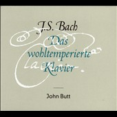 J.S. Bach: The Well-Tempered Klavier / John Butt, harpsichord [4 CDs]