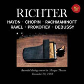 Richter plays Haydn, Chopin, Rachmaninoff, Ravel, Prokofiev, Debussy
