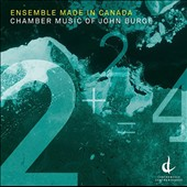 John Burge: Pas de Deux, for violin & cello (2010); String Theory, for viola & piano (2011); Piano Quartet (2012) / Ensemble Made in Canada