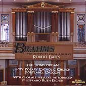 Brahms: The Complete Organ Works / Robert Bates