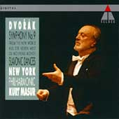 Dvorak: Symphony no 9 / Masur, New York Philharmonic