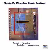Santa Fe Chamber Music Festival - Takemitsu, Rossini, et al