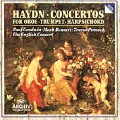 Haydn: Concertos for Oboe, Trumpet, Harpsichord / Pinnock