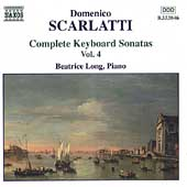 D. Scarlatti: Complete Keyboard Sonatas Vol 4 / Beatrice Long