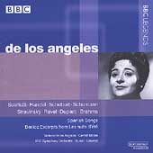 De Los Angeles - Scarlatti, Handel, Berlioz, et al / Moore