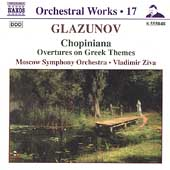 Glazunov: Orchestral Works Vol 17 / Ziva, Moscow SO