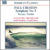 American Classics - Paul Creston: Symphony no 5, etc