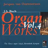 Bach: Organ Works Vol 4 / Jacques van Oortmerssen
