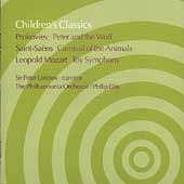 Peter Ustinov: Children's Classics by Prokoviev, Saint-Saëns, and Leopold Mozart *